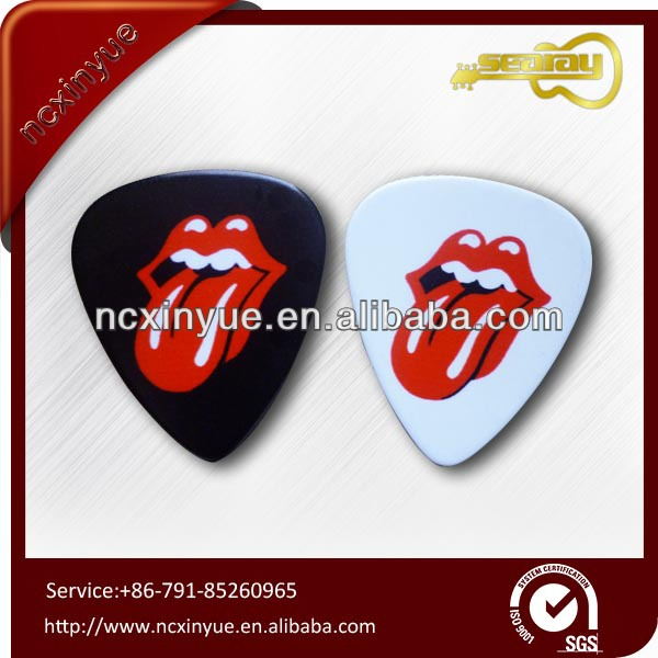 Excellent guitar part band member pick for guitar+careful package(China (Mainland))