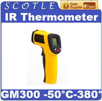 Freeshipping GM300 Non-contact Handheld LCD Infrared IR Laser Digital Thermometer -50'C~380'C