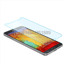2015 clear 0.3mm 9H protecteur ecran protection protective safety guard protected tempered glass glas film for note 3 samsung