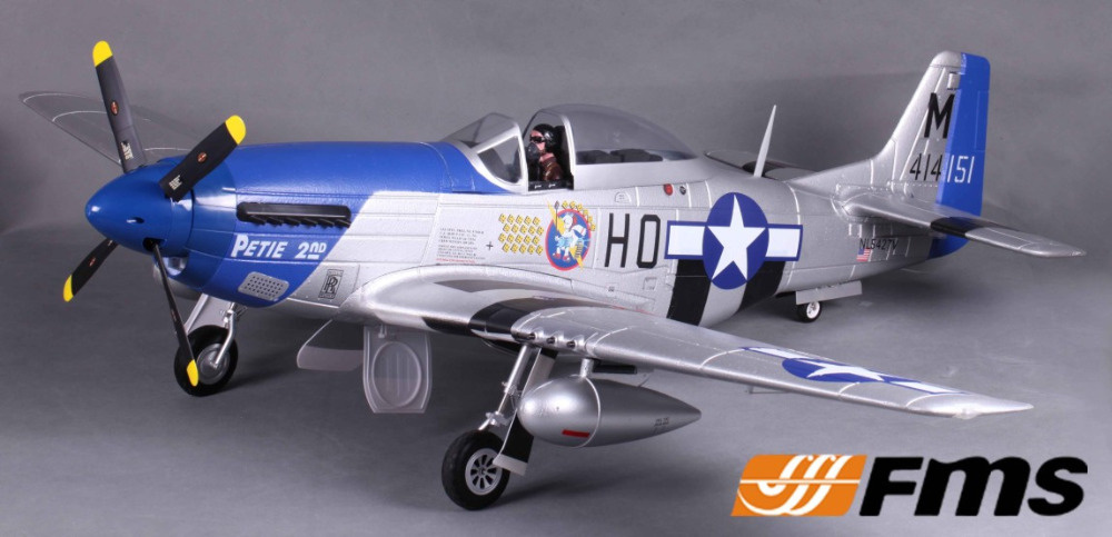 FMS 1400MM / 1.4M Gaint Warbird P51 P-51D Mustang Petie 2nd Newest V8 PNP Big Scale RC Model Plane Aircraft(China (Mainland))