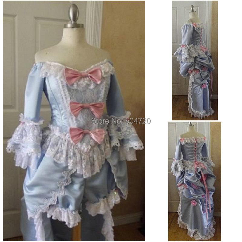 freeshipping r 091 19 century vintage costume