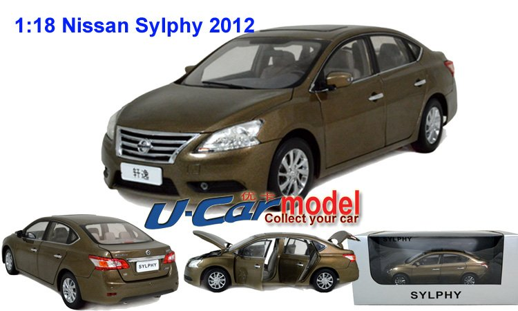 1pc lot 1 18 china nissan new sylphy 2012 die cast car. Black Bedroom Furniture Sets. Home Design Ideas