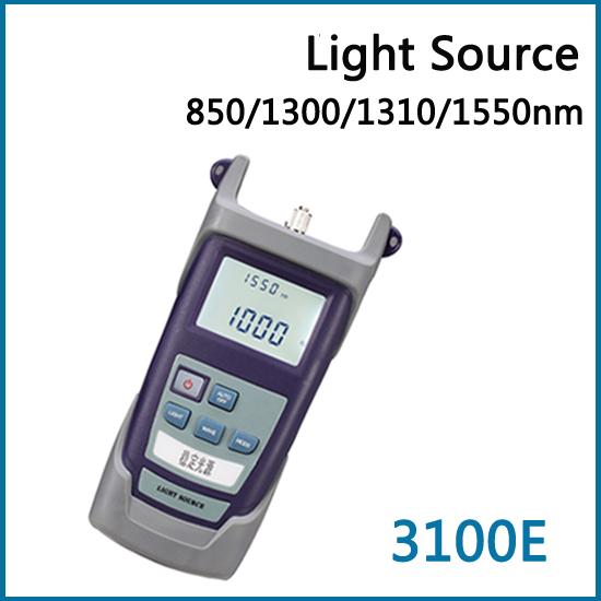 Handheld Single & Multi Mode ( SM & MM ) 850/1300/1310/1550nm Optical Laser Light Source RY3100E Fiber Optic Network Tools(China (Mainland))