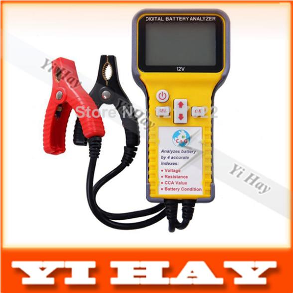 New Free shipping 12V Automotive Digital Battery Analyzer tester F16 suit for car, motorcycle,truck, bus etc.(China (Mainland))
