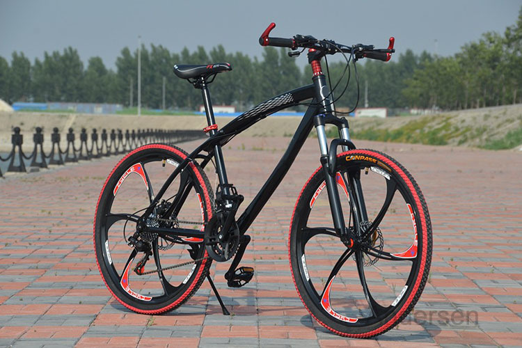 Free Shipping 26 Inch 24 Speed mountain bike bicycle Double Disc Brake downhill Road Bike Special