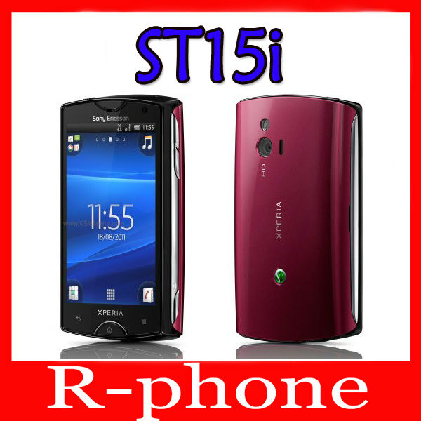 Original Sony Ericsson Xperia mini St15i Mobile Phone Android SmartPhone 3G WIFI A-GPS Unlocked Cell Phone(China (Mainland))