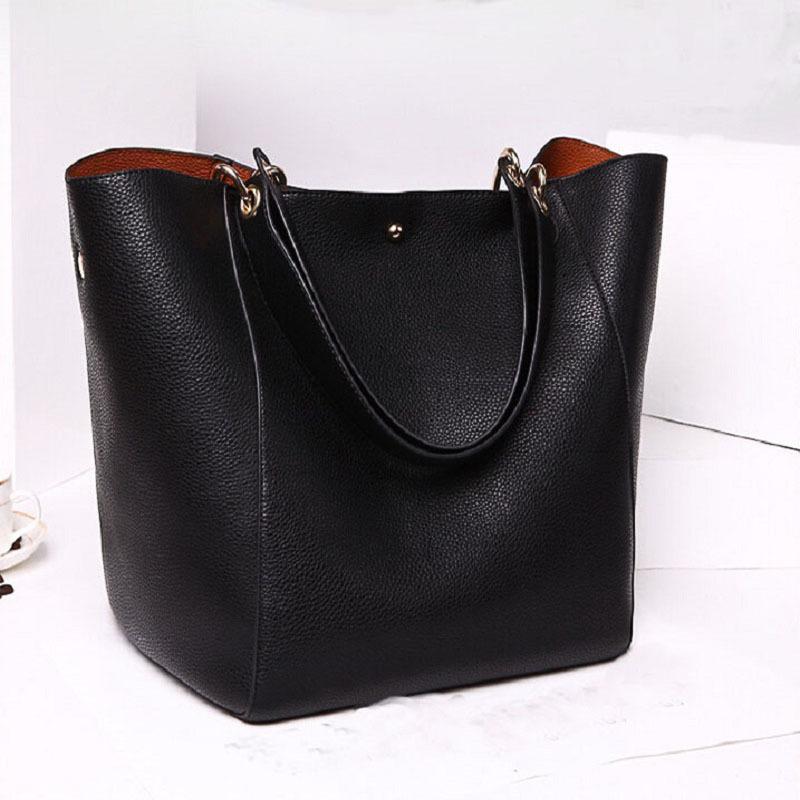 Genuine Leather Handbags Brand Models Retro Minimalist Crossbody Shoulder Bag Lady Leather Handbag Designer Leather Women Tote(China (Mainland))