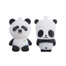 1pc/lot Panda USB 2.0 Flash Drives External Memory Storage Pen drive 64GB 32GB 16GB 8GB Thumbdrive Card Stick U disk Creative(China (Mainland))