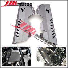 Buy Motorcycle CNC Aluminum Alloy Radiator Grille Side Cover Guard Protector Grey Color Yamaha MT09 FZ09 2013 2014 2015 2016 for $52.79 in AliExpress store