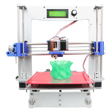 6 Materials Supported size 200*200*180mm High Quality Precision Reprap Prusa i3 DIY Full Aluminum 3d Printer kit Free LCD