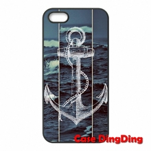 Cell Phone anchor hipster Moto X1 X2 G1 E1 Razr D1 D3 iPhone 4 4S 5 5C SE 6 6S Plus Apple iPod Touch - Cases Ding store