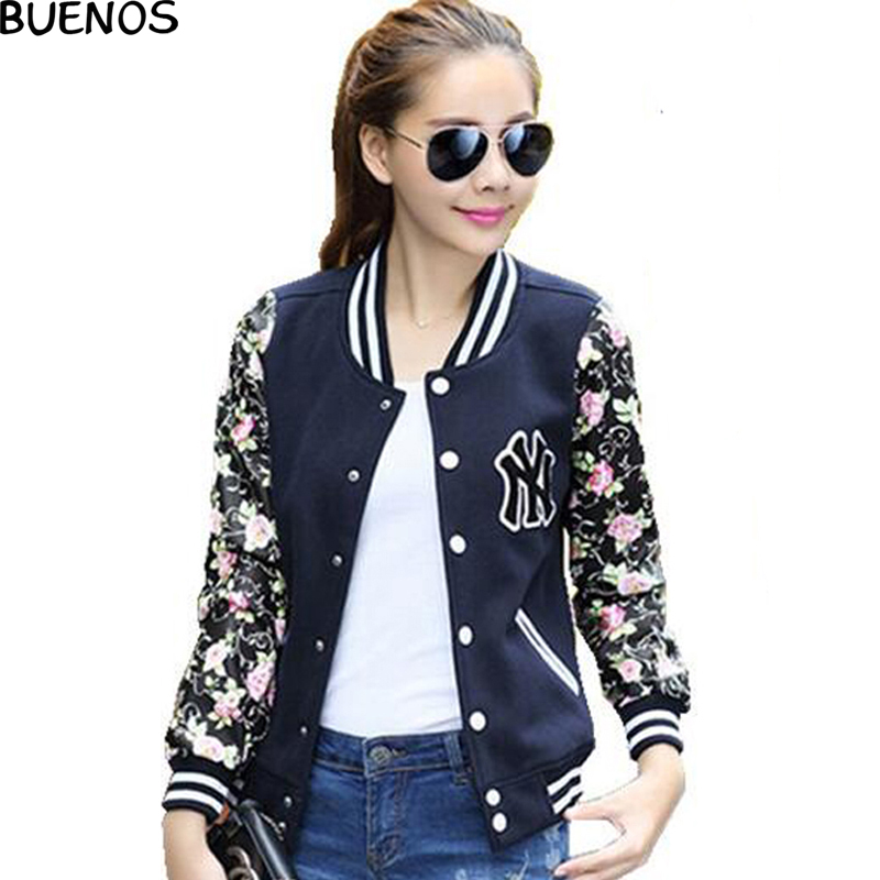 New jackets women winter warm fashion lady coats jacket Long-sleeve flower print plus size baseball jackets cardigan BN879Одежда и ак�е��уары<br><br><br>Aliexpress