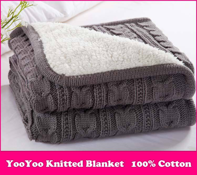 Knitting Pattern Cotton Blanket : Compare Prices on Knitting Patterns Blanket- Online Shopping/Buy Low Price Kn...