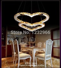 Romantic Flower Led lamp New Style Crystal LED Ceiling Light pendant light for dining room 85-265v with remote control(China (Mainland))
