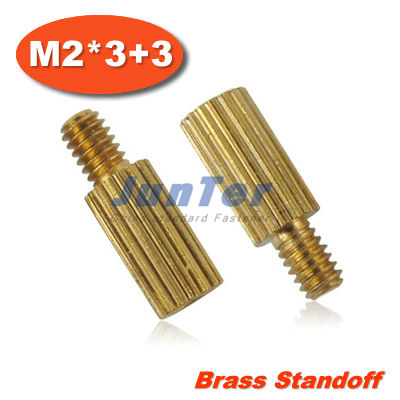 500pcs/lot Brass Standoff Spacer M2 Male x M2 Female -3mm (Free Shipping)<br><br>Aliexpress