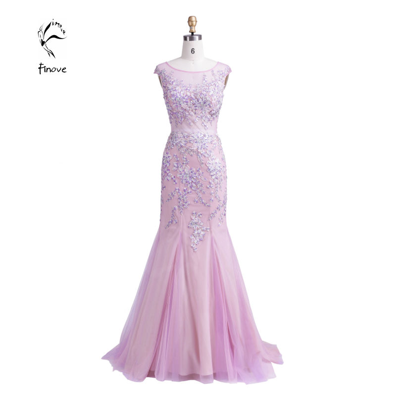 Sexy Rhinestone Mermaid Elegant Long Evening Dresses 2015 Women Formal Party Gowns Crystals - Dulamy&Finove store