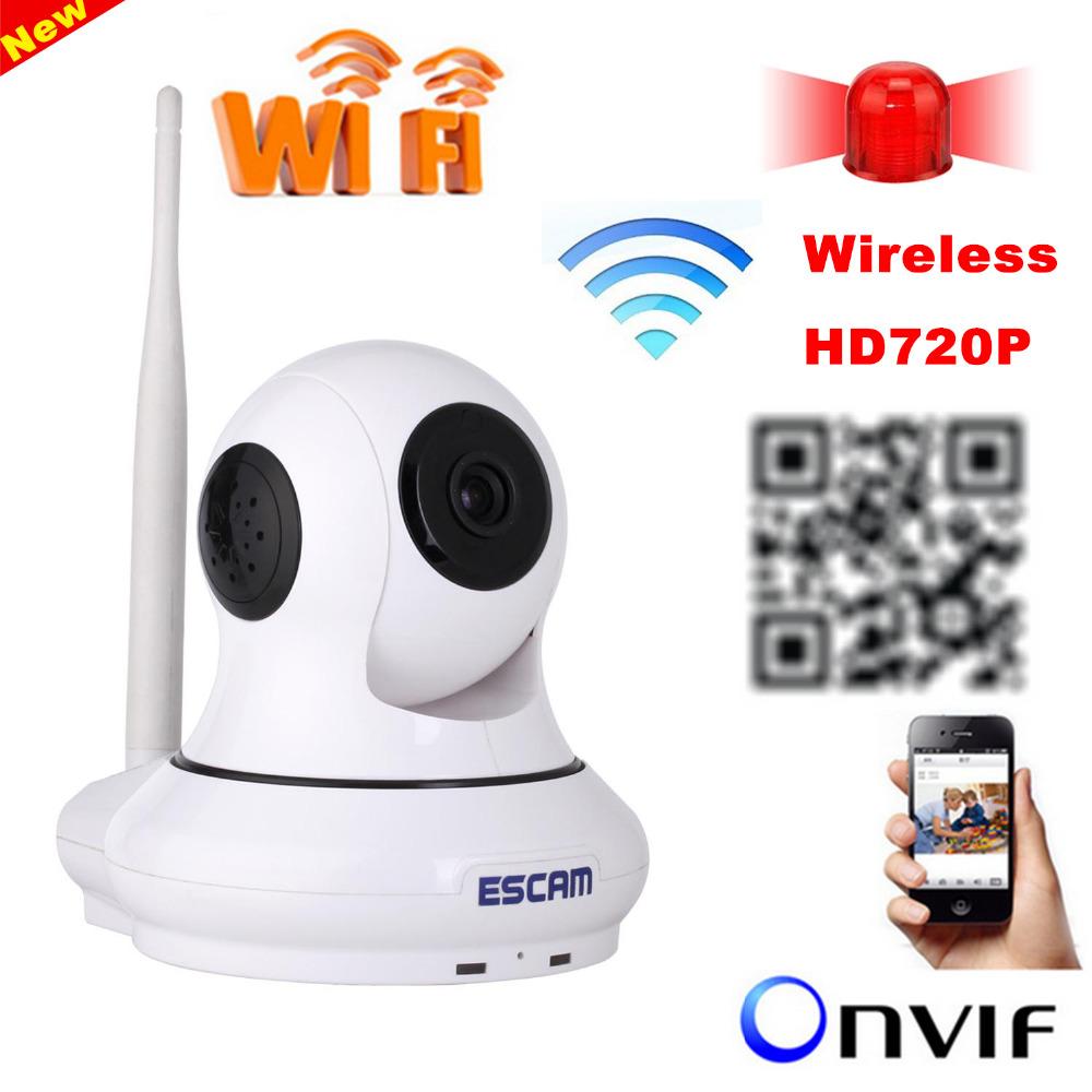 ESCAM QF500 HD 720P Wireless IP Camera IR-Cut Night Vision Audio Recording Network CCTV Onvif Indoor IP <br><br>Aliexpress