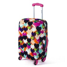 Hot Fashion Travel on Road Luggage Cover Protective Suitcase cover Trolley case Travel Luggage Dust cover for 18 to 30inch(China (Mainland))