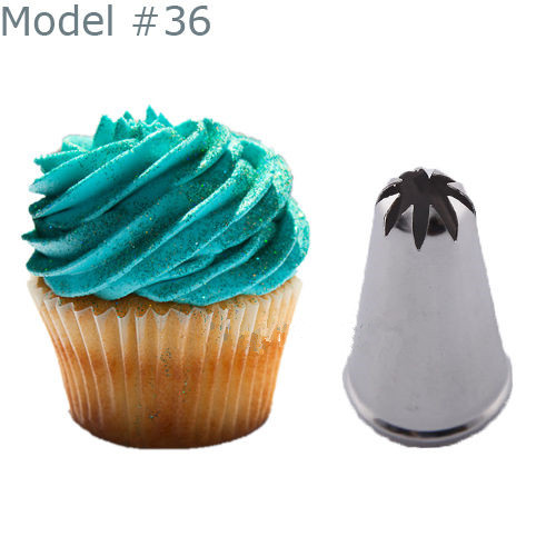 New Fashion Drop Flower Icing Piping Nozzle Cake
