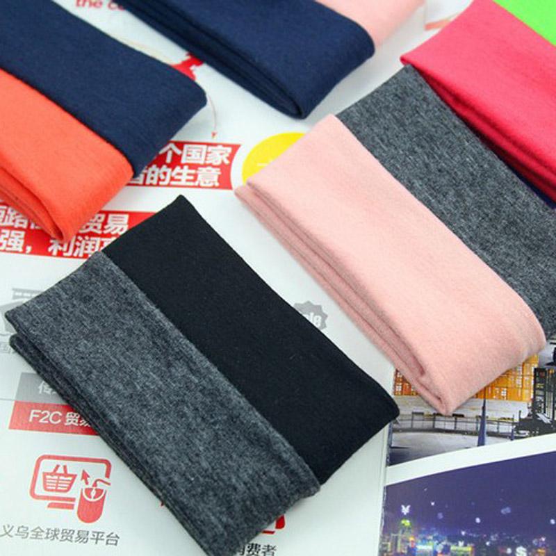 Popular Korean jewelry hit color cotton hair band sports Yoga sweat headband all-match fashion factory direct sales(China (Mainland))