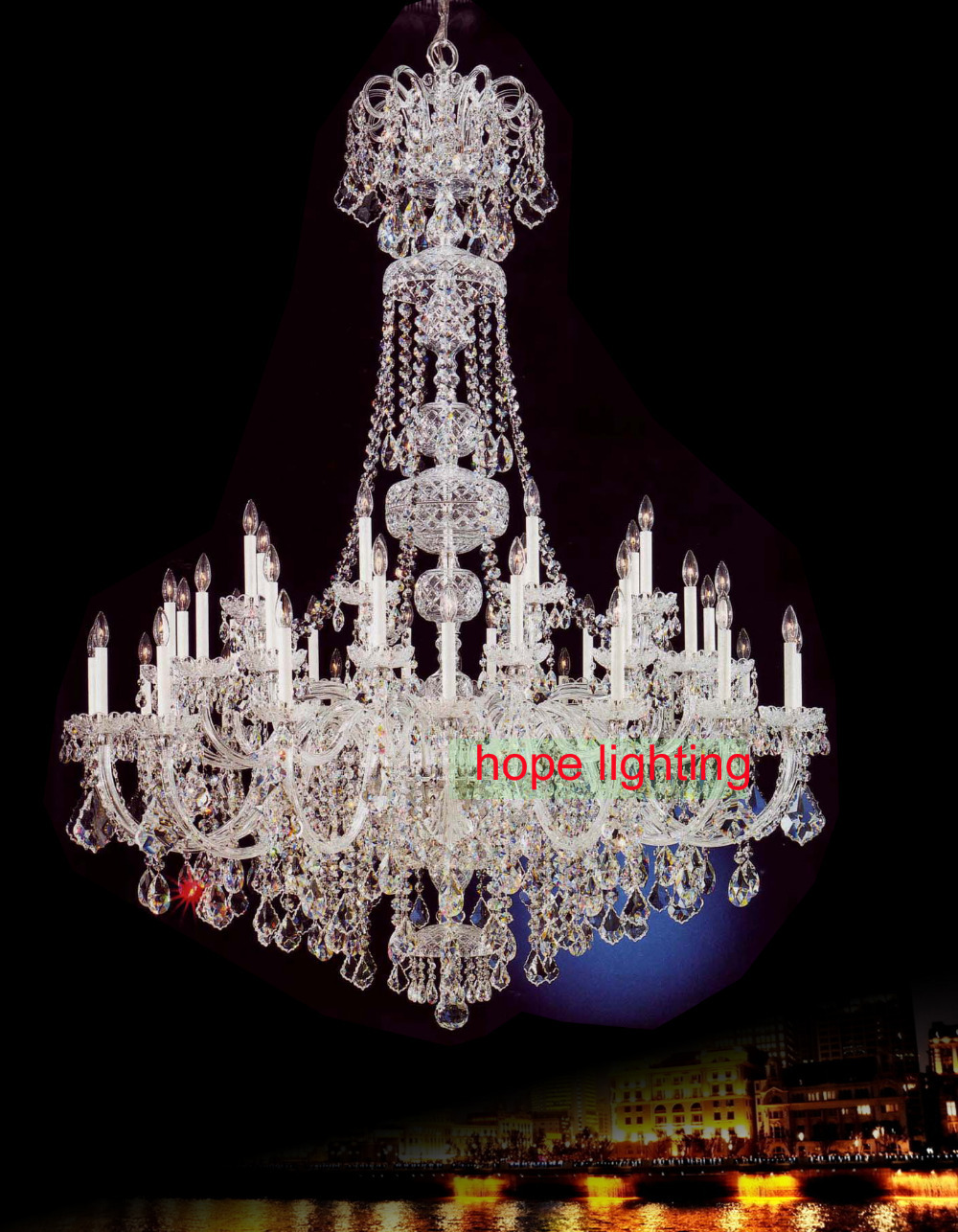 extra large crystal chandeliers  Maria Theresa traditional chandeliers  led transitional chandelier Bohemian Crystal Chandeliers<br><br>Aliexpress