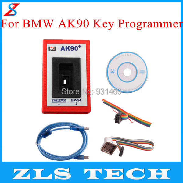Free Shipping For BMW AK90 Key Programmer AK90+ for All BMW EWS Newest Version V3.19 High Quality(China (Mainland))