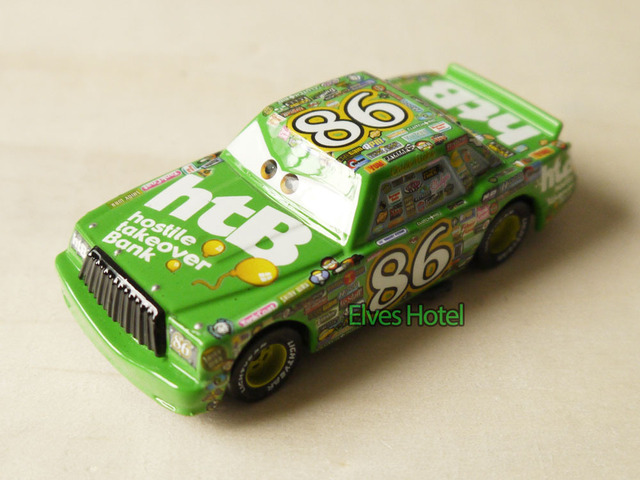 PIXAR CARS #86 Chick Hicks Diecast  1:55 Car Loose