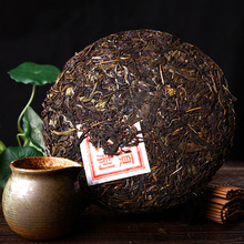 China Yunnan puerh tea 357g raw puer Chinese Menghai shen taetea 357g pu er green food