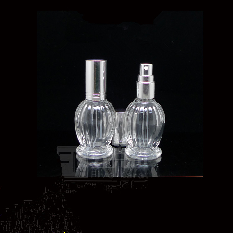 15ML New factory wholesale high quality travel portable glass spray perfume bottles Repeated use Cosmetics test Packaging Bottle(China (Mainland))