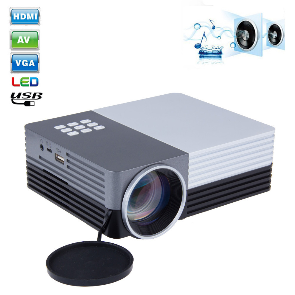 Lcd Projector Pc Av Tv Vga Usb Hdmi Hd 1080p Home Theater: New GM50 Home Cinema Theater Multimedia LED LCD Projector