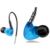 Sports Earphones Wired Headset Waterproof In-ear Hifi Headphone for Running/Exercising with Mic Control for Mp3 Players