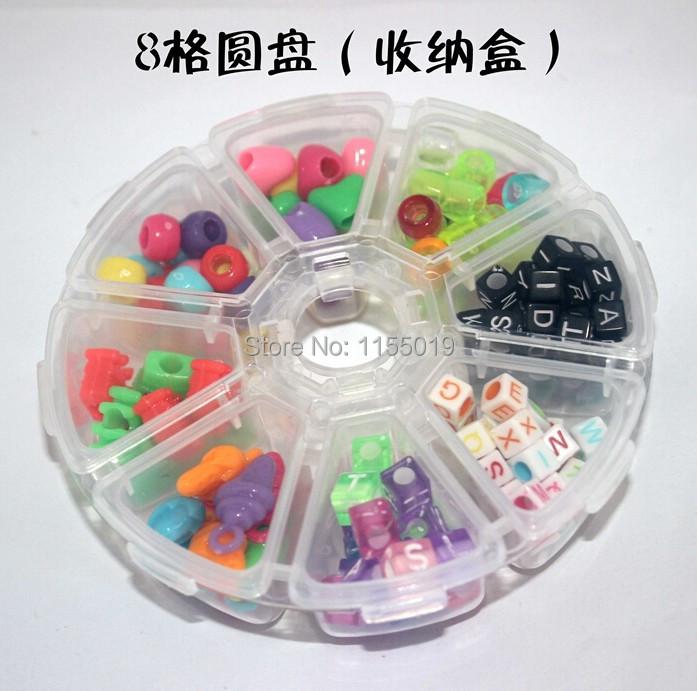 10cm 8 Grids Round Plastic Medicine Pill Box 8 Lattice Round Plastic Storage Mini Box 200pcs/carton Factory Price(China (Mainland))