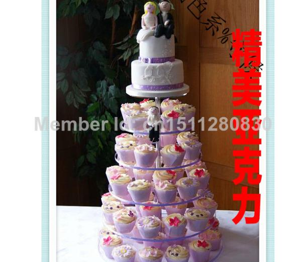 event party supplies European cake aircraft 6 round acrylic cake tier Luxury hotel dessert aircraft champagne decoration(China (Mainland))