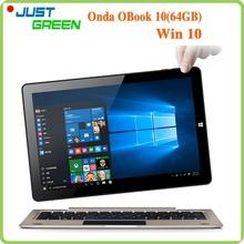 Original Onda Obook10 Tablet PC 10.1″ 1280×800 IPS Screen Cherry Trail Atom X5 Z8300 Quad Core 4GB RAM 64GB ROM HDMI OTG Win10