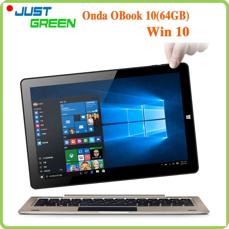 Onda Obook 10 Tablet PC 10 1 1280x800 IPS Intel Cherry Trail Atom X5 Z8300 Quad