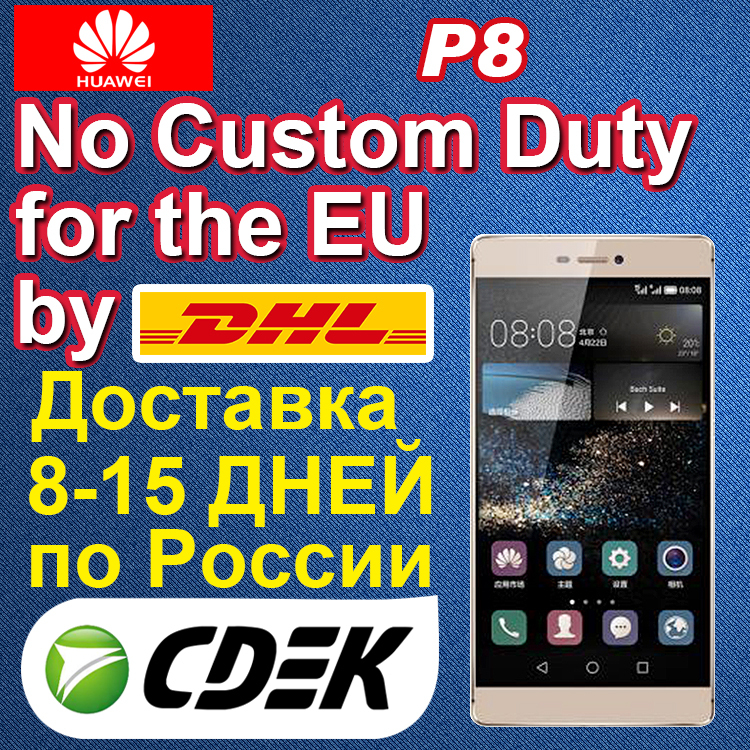 Original HuaWei Ascend P8 4G FDD LTE Mobile Phone Kirin 935 Octa Core Android 5.0 5.2 Inch IPS 1920X1080 3GB RAM 64GB ROM 13.0MP(China (Mainland))
