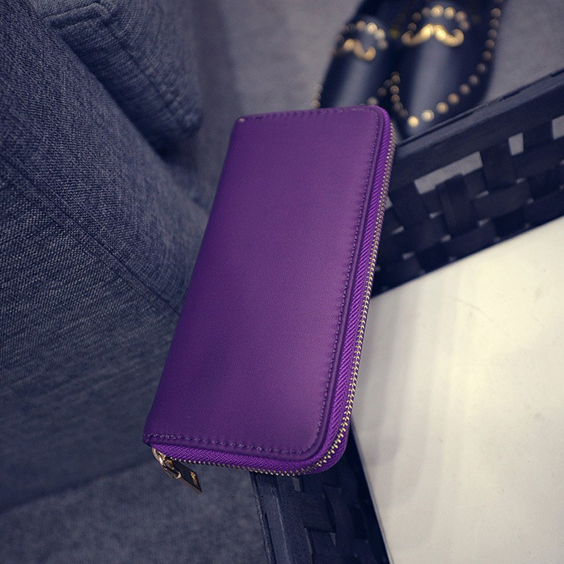 Famous Brand Women wallet Long Soft Nylon surface Sweet Purse Clutch with Card holder Handbag Lady wholesale