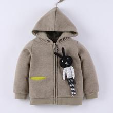 BBPARK Children Hoodies Cotton Zipper Hooded Animal Long Sleeves Kids Sweatshirt(China (Mainland))