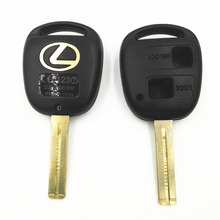 Buy 2 Buttons Short Blade 37mm 38mm Length Replacement Key Shell Lexus GX470 RX350 ES300 RX300 RX400h SC GS LS Blank Key Case for $1.39 in AliExpress store