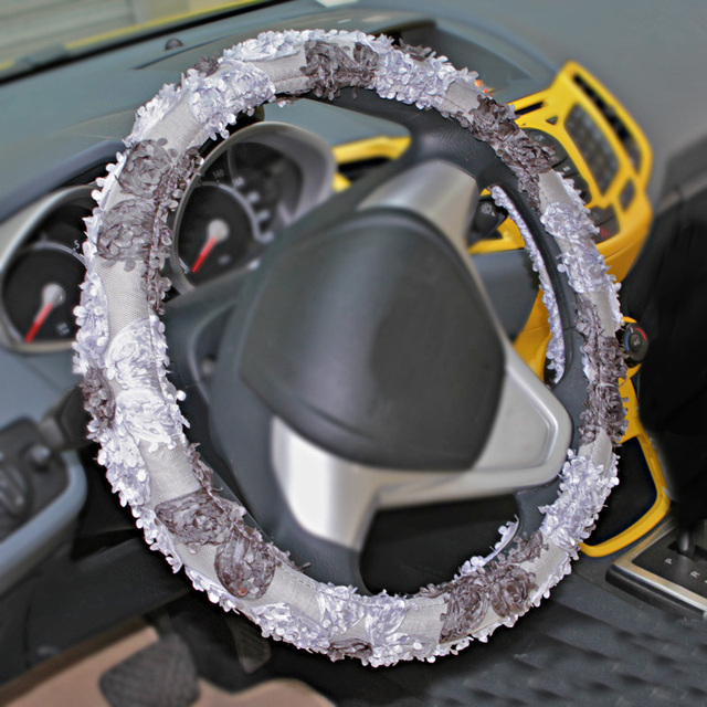 Auto supplies steering wheel cover summer genuine leather cover family fox hatchards triumphant more uluibau four seasons