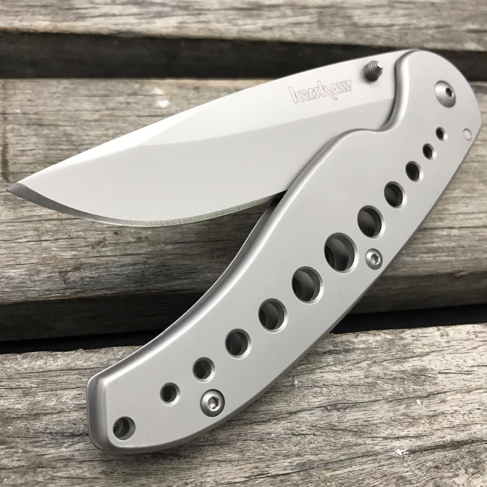Buy LDT Kershaw 1655 Folding Blade Knives 8Cr13Mov Blade Steel Handle Camping Pocket Tools Outdoor Tactical Hunting Military Knife cheap