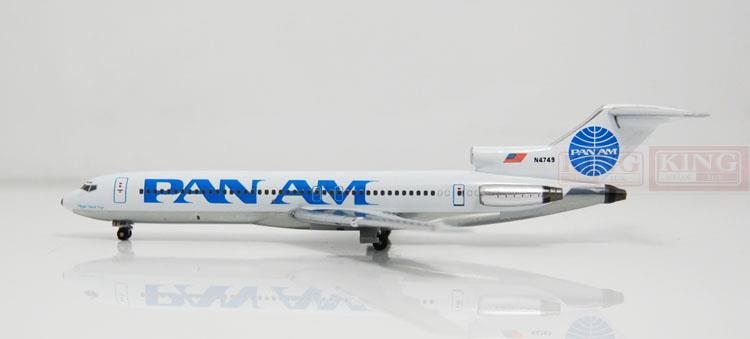Apollo A13034 B727-200 N4749 1:400 Pan American Airlines commercial jetliners plane model hobby(China (Mainland))