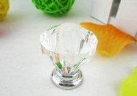 Lot of 10 Glass Cabinet Pulls Handle Knob Cabinet Door New (Diameter.:31mm)