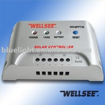 WS-MPPT30 30A CE ROHS ISO9001 13485 Certificated mppt solar charge controller