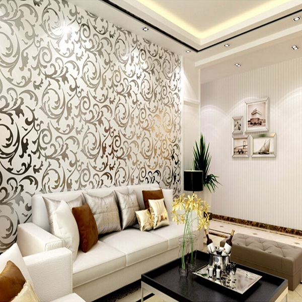 Popular interior wallpaper designs buy cheap interior for Home wallpaper designs for living room