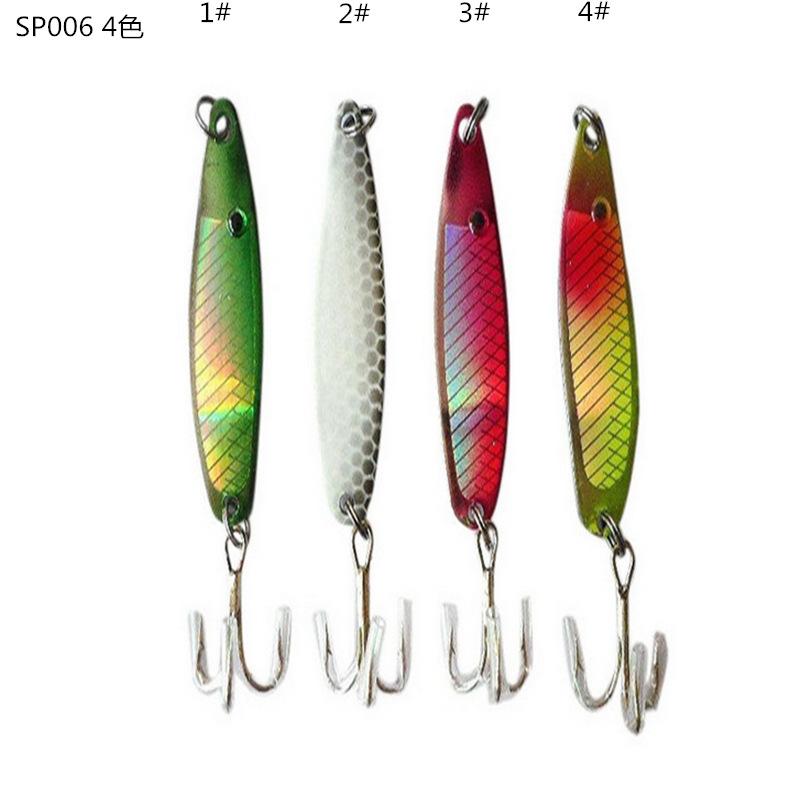 free shipping Hard Bait Minnow Fishing lure 5cm Fishing Bait 6.5g Crankbait 4Color Fishing Tackle # Hook 1pcs/lot fl74(China (Mainland))
