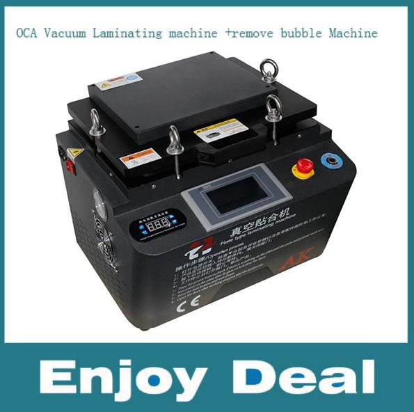 Newest 12 Inch Vacuum LCD OCA Laminating Machine Bubble Removing Machine For Touch Screen Refurbish(China (Mainland))