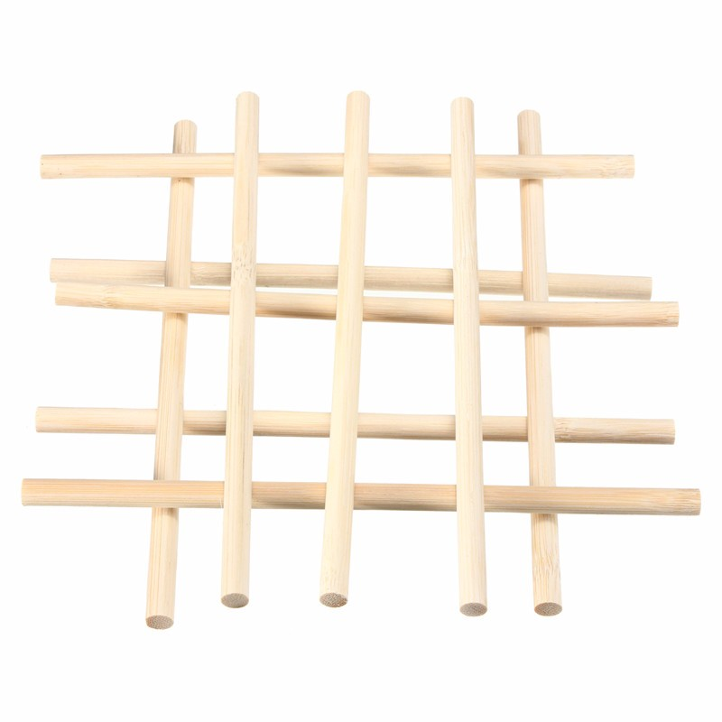 Simple 10PCS Natural Round Wooden Craft Sticks Paddle Lollipop Pop Sticks Rods 20cm x 8mm For Kids DIY Crafts Home Decor(China (Mainland))
