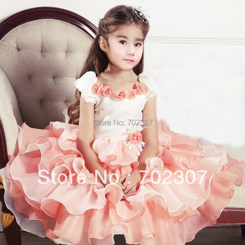 wholesale high-grade girl party dress,girl princess clothing PRE-order 5pcs/lot 9797
