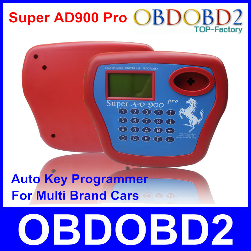Super AD 900 Key Programmer AD900 Pro Transponder AD-900 Key Cloner For Multi Brand Cars Read 4D+4C+8C+8E Chip Information(China (Mainland))